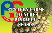 Presidente Supermarket Pineapple Campagne Button
